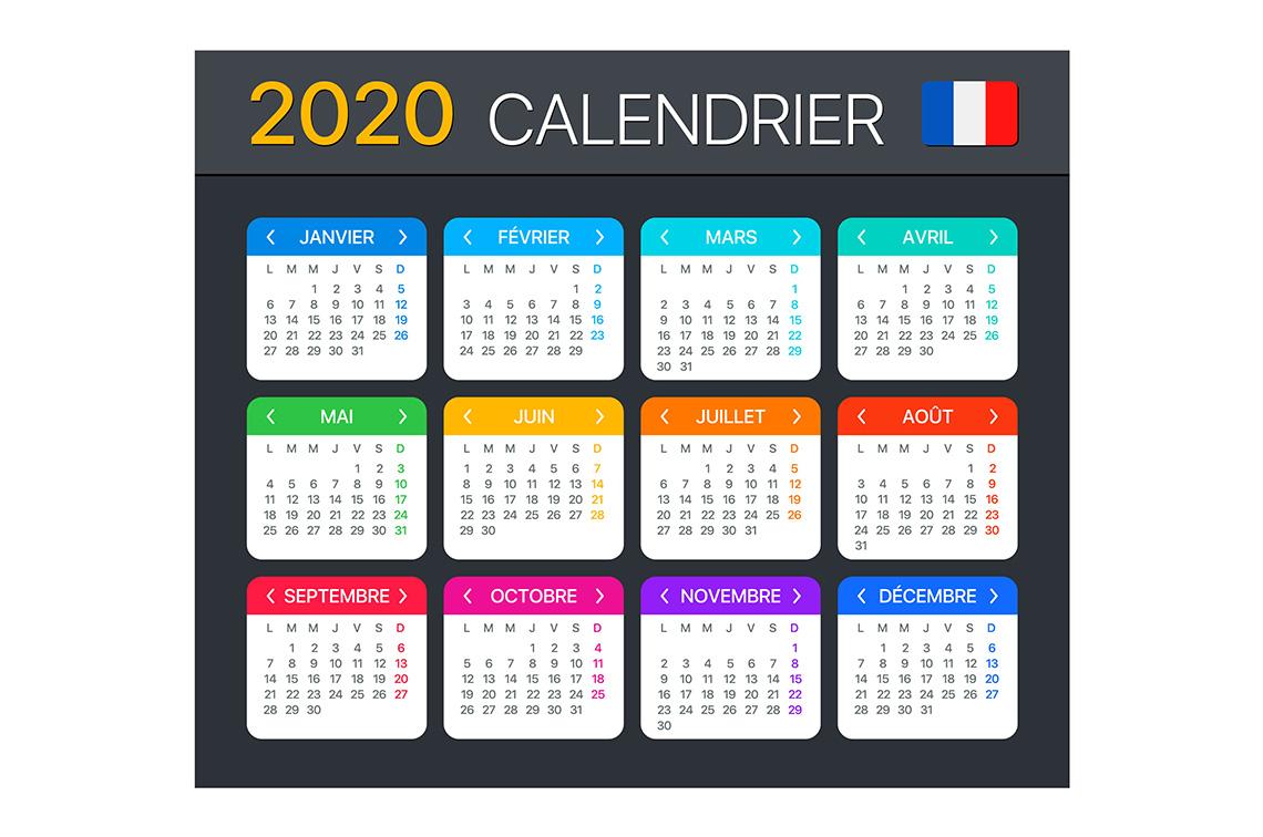 Imprimerie Cornuel Imprimeur Ou Impression En Sarthe Calendriers Pour L'année 2020 181